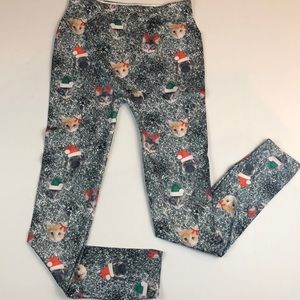 Pants - Christmas Cats And Dogs Leggings NWOT